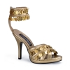 GYPSY-03 Gold Faux Leather